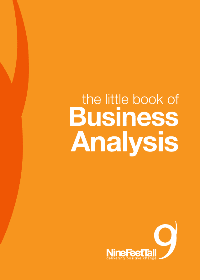 The little book of business analysis